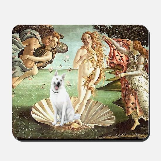 Venus-H-White German Shepherd N2 Mousepad