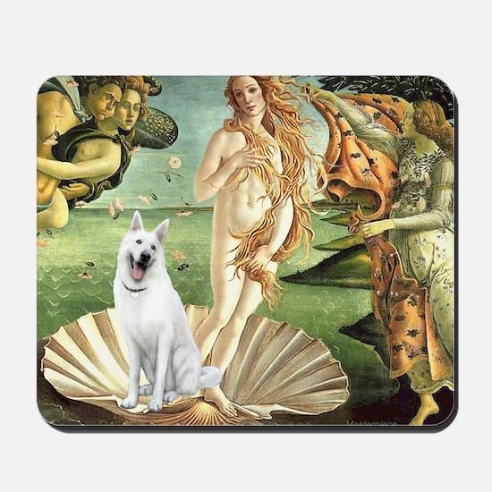 Venus-White GERMAN Shepherd N2 Mousepad