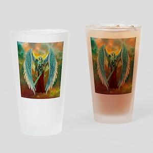 Archangel Michael Drinking Glass
