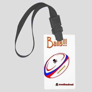 Balls Rugby 6000 Large Luggage Tag