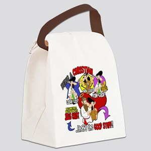 The Good Stuff Canvas Lunch Bag