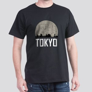 Tokyo Full Moon Skyline T-Shirt