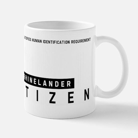Rhinelander Citizen Barcode, Mug