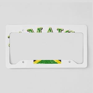 jamaica License Plate Holder