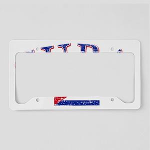 Cuban soccer designs License Plate Holder