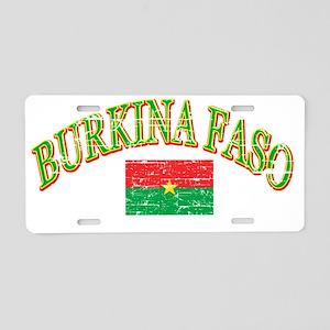 burkina faso Aluminum License Plate