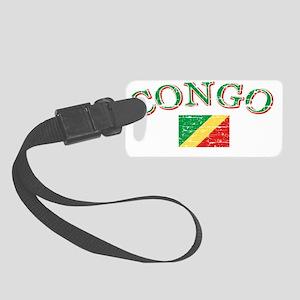congo Small Luggage Tag