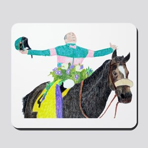 Mike Smith and Zenyatta Mousepad