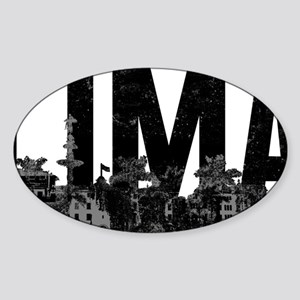 Lima Sticker (Oval)