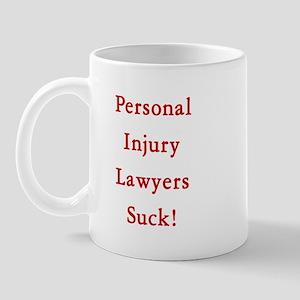 Personal injury lawyers Mug