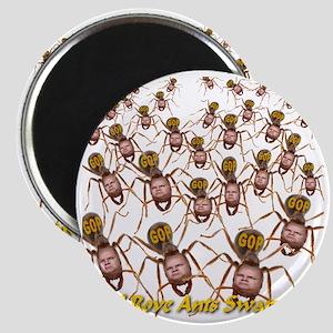 Karl Rove GOP Ants Swarming Magnet