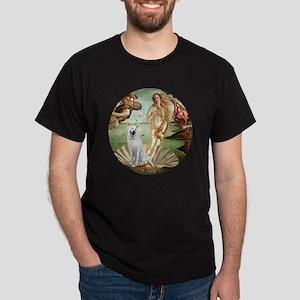 Venus-White GermanShepherd Dark T-Shirt