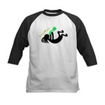 Kokopelli + St. Patrick's Day Kids Baseball Jersey