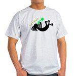 Kokopelli + St. Patrick's Day Light T-Shirt