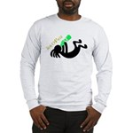 Kokopelli + St. Patrick's Day Long Sleeve T-Shirt