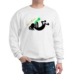 Kokopelli + St. Patrick's Day Sweatshirt