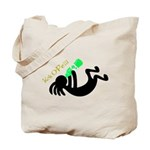Kokopelli + St. Patrick's Day Tote Bag