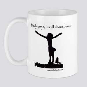 It's All About Jesus Mug