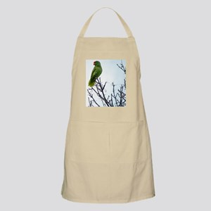 Red Crested Parrot Apron
