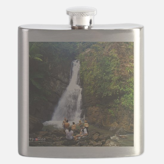 La Mina Falls, El Yunque National Rainforest Flask