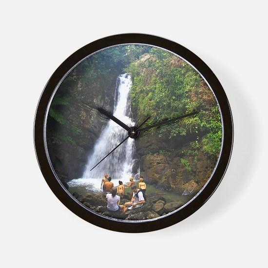 La Mina Falls, El Yunque National Rainf Wall Clock