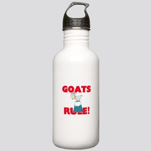 Goats Rule! Stainless Water Bottle 1.0L