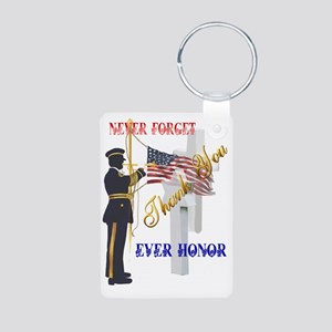 My Memorial Day Soldier-Tr Aluminum Photo Keychain