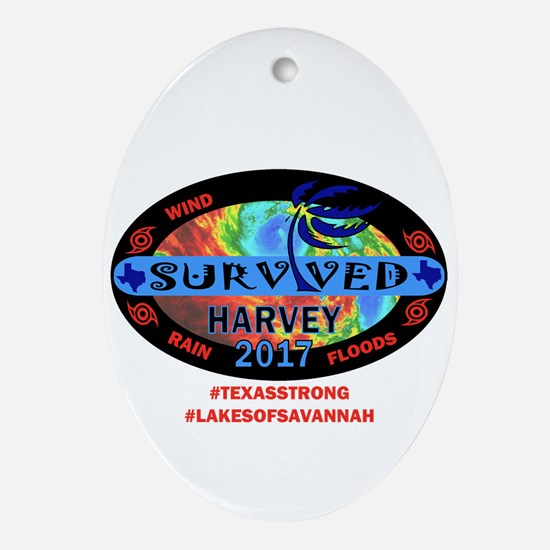 Harvey - Lakes of Savannah Oval Ornament