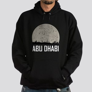 Abu Dhabi Full Moon Skyline Sweatshirt
