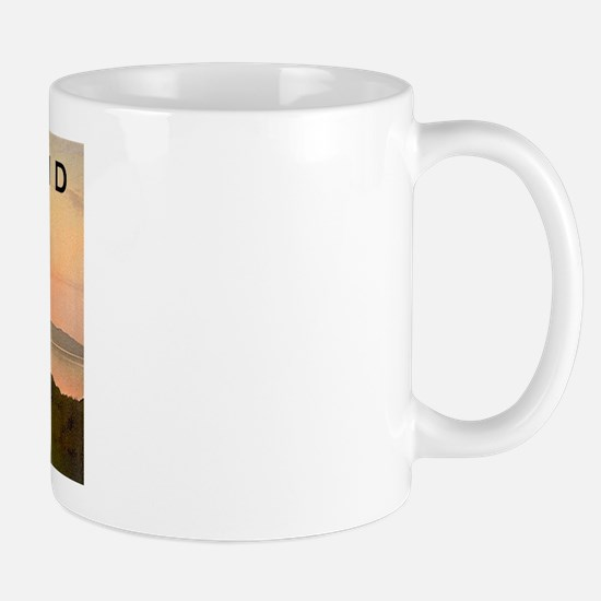 Greyhound Sunset Mug
