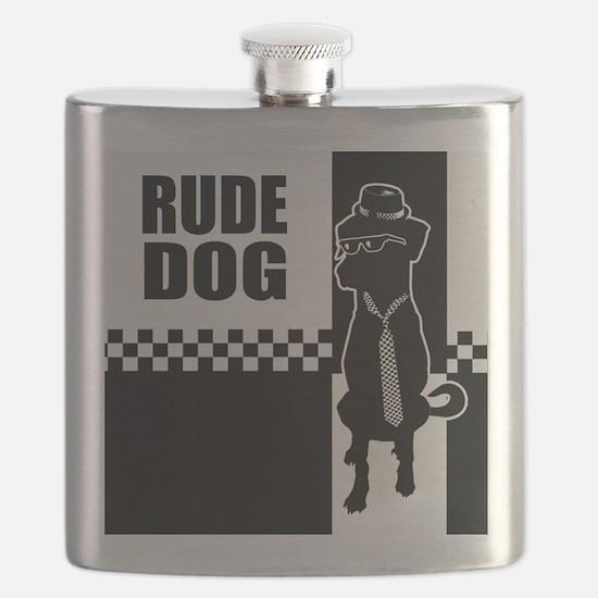 Rude Dog Flask