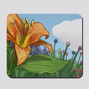 Tiger Lily Mousepad