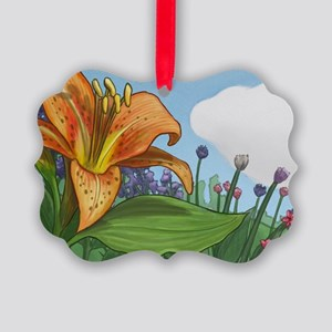 Tiger Lily Picture Ornament