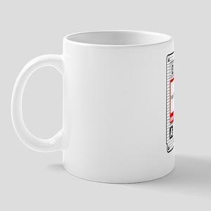 Cassette White Mug