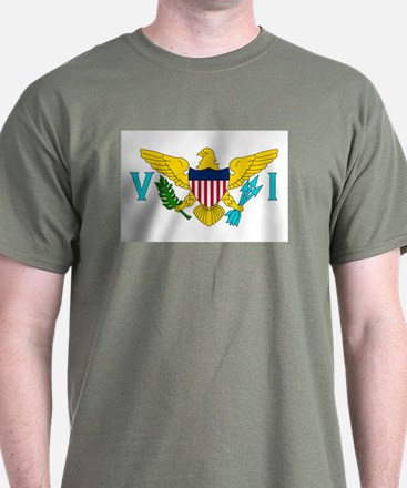 The US Virgin Islands flag T-Shirt