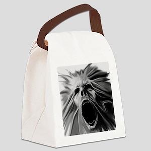 Bath Demon 1 Canvas Lunch Bag