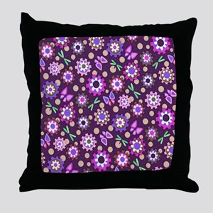 Fancy Butterfly Style Throw Pillow