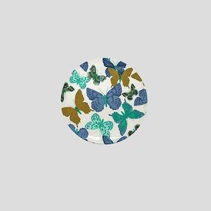 Fancy Butterfly Style Mini Button