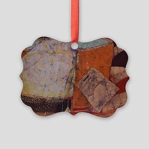 Teacup batik Picture Ornament