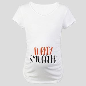 Turkey Smuggler Maternity T-Shirt