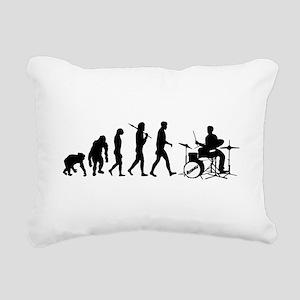 Drummers Drum Rectangular Canvas Pillow