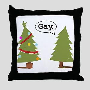 Fairy Santa Throw Pillow