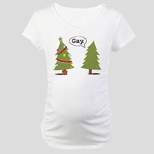 Fairy Santa Maternity T-Shirt