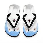 Samoyed Puppy Flip Flops