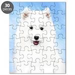 Samoyed Puppy Puzzle