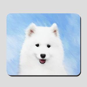 Samoyed Puppy Mousepad