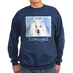 Samoyed Puppy Sweatshirt (dark)