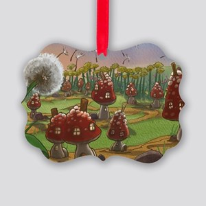 Dandelion Picture Ornament