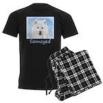 Samoyed Puppy Men's Dark Pajamas
