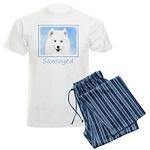 Samoyed Puppy Men's Light Pajamas